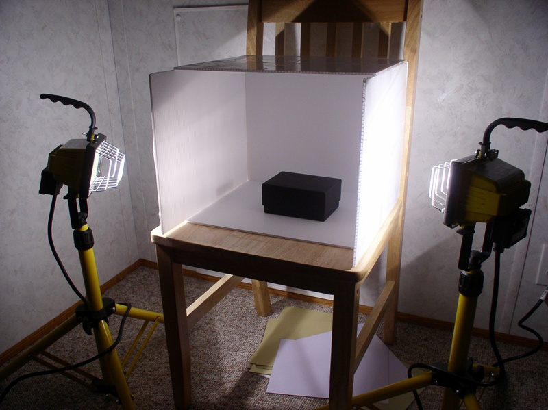 Another Homemade Light Box.