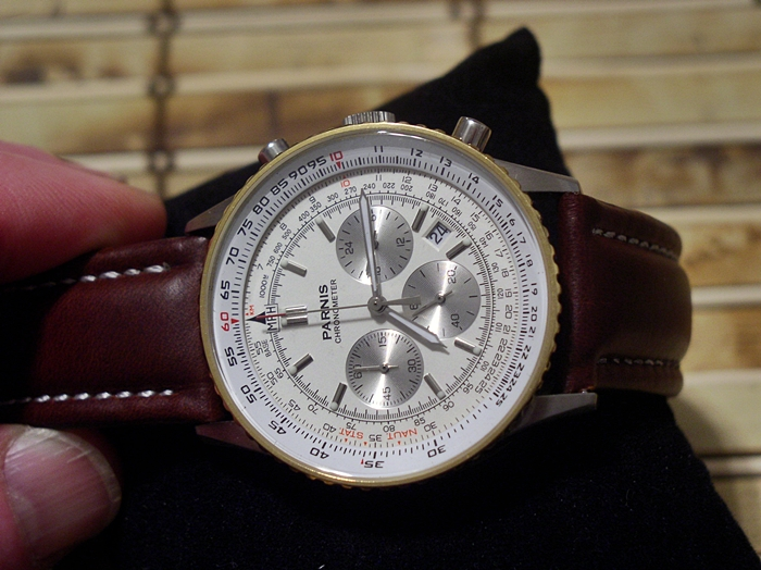My Recent Parnis Navitimer Style Watch